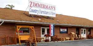 Zimmermans Country Furniture Rustic Furniture In Bedford Pa