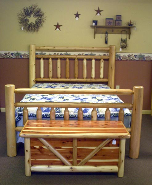 Rustic Bedroom Furniture - Zimmermans Country Furniture - Bedford, PA
