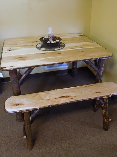 Rustic Amp Handcrafted Dining Room Furniture Zimmermans