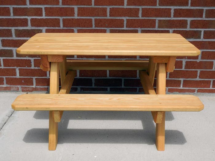 Handcrafted Wooden Outdoor Furniture Zimmermans Country Furniture - Pressure treated wood picnic table