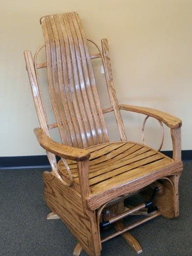 Wooden Glider · Rocking Chair