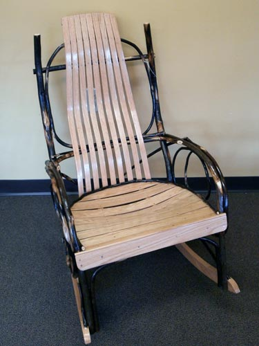 Handcrafted Amish Rockers And Gliders Zimmermans Country